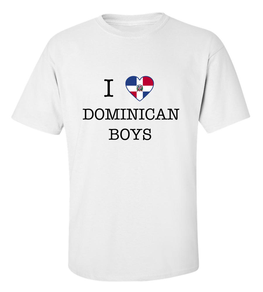 I Love Dominican Republic Boys T-shirt