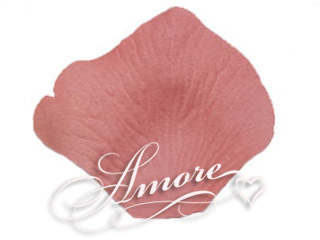 Candy Pink Silk Rose Petals Wedding 2000