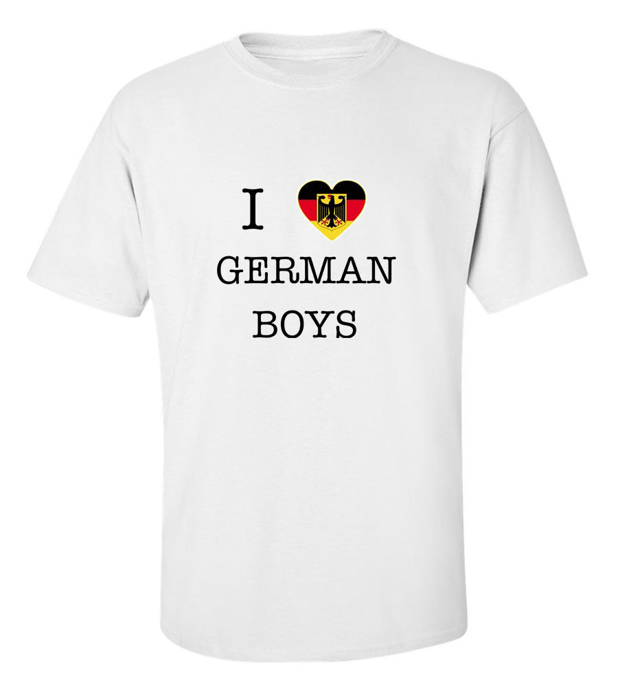 I Love Germany Boys T Shirt