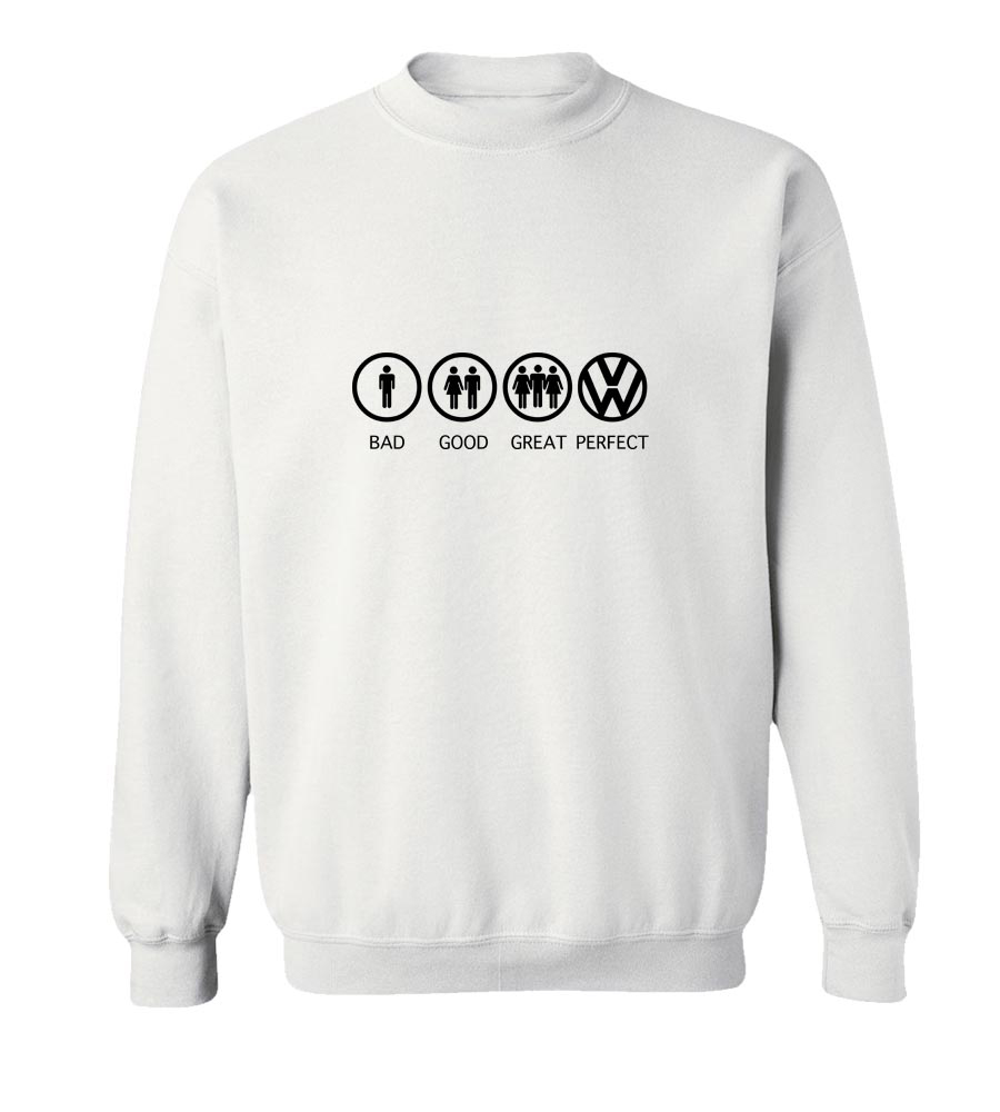 VW Auto Crew Neck Sweatshirt