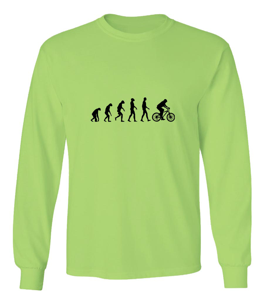 Cycling Evolution Long Sleeve T-Shirt