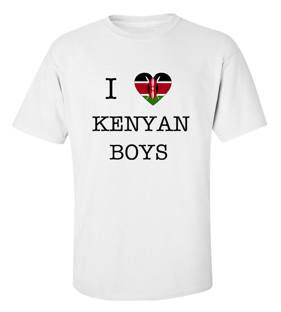 I Love Kenya Boys T-Shirt