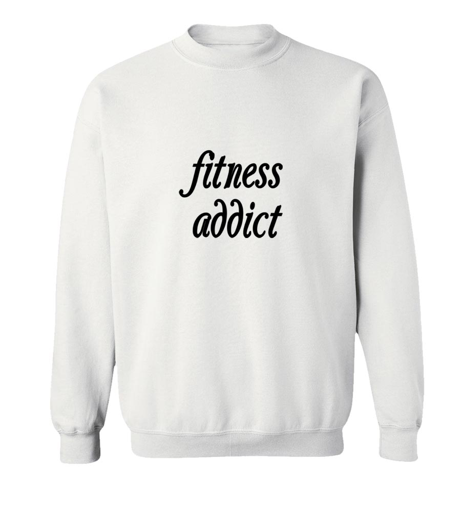 Fitness Addict Crew Neck Sweatshirt
