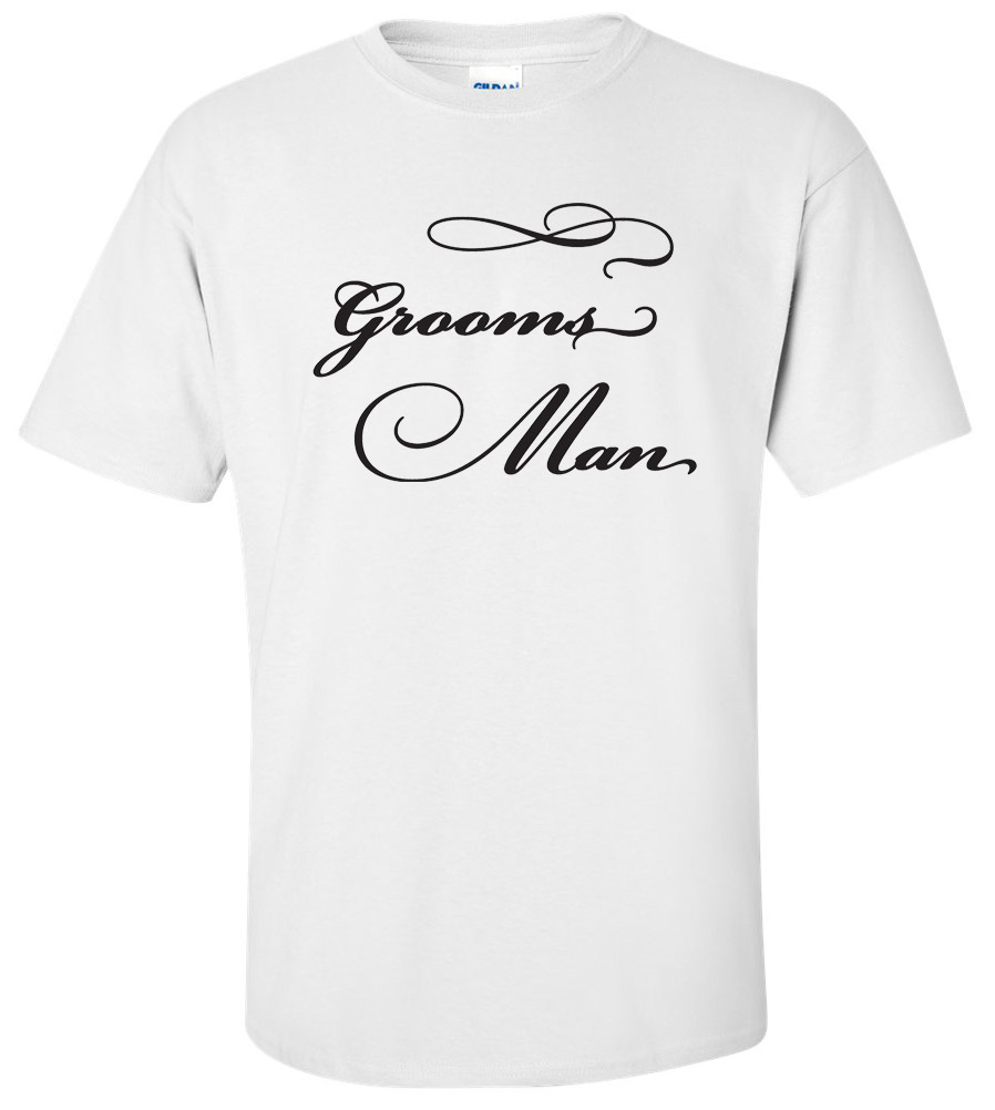 Groomsman Wedding T Shirt