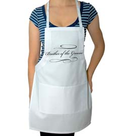 Brother of the Groom Wedding Apron