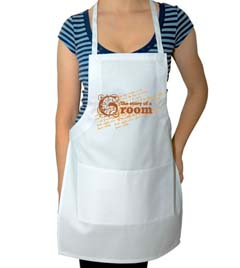 The Story of the Groom Wedding Apron
