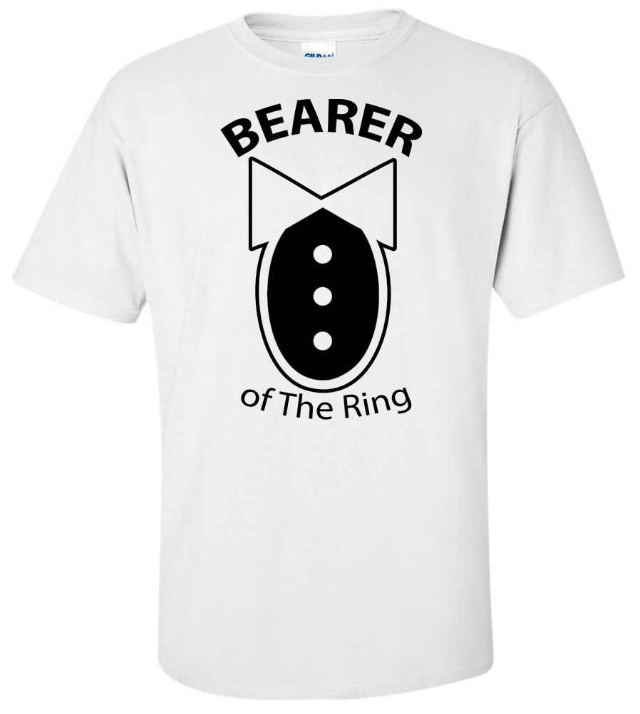 Ring Bearer Wedding T Shirt