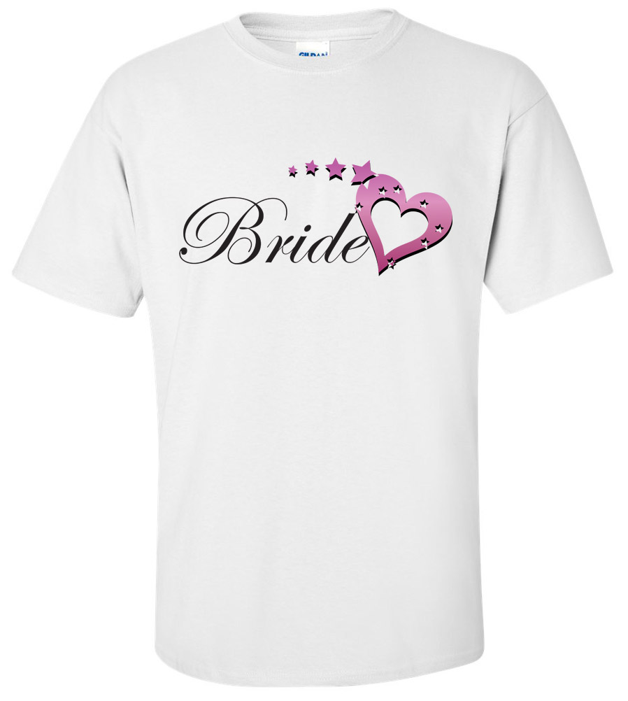 Bride Wedding T Shirt