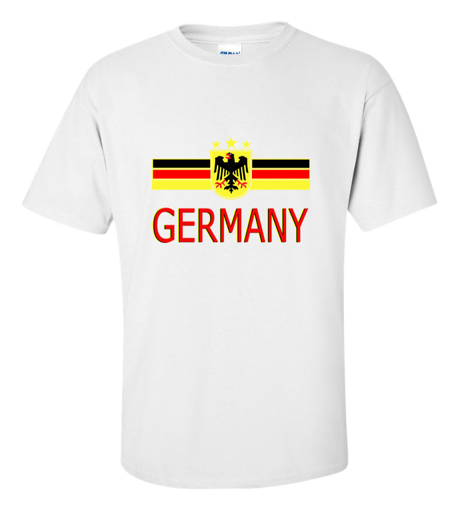 Germany Crest International Soccer T Shirt