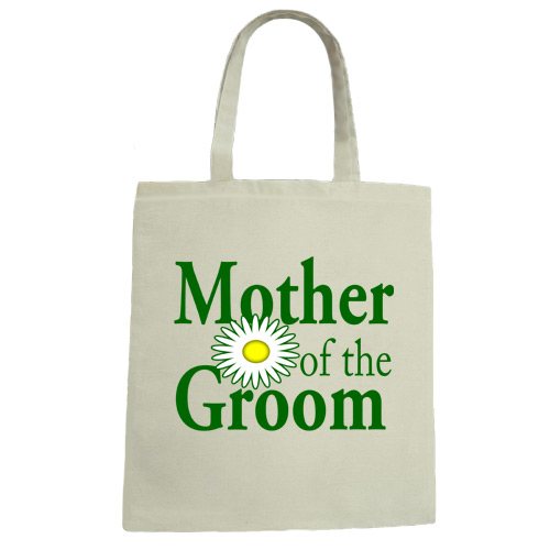 Mother of the Groom Wedding Canvas Tote Bag