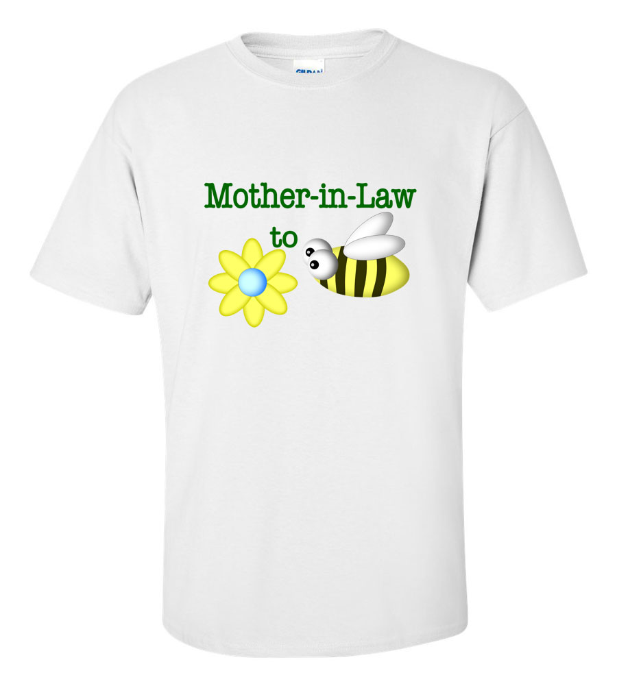 Mother in Law to Be Wedding T Shirt