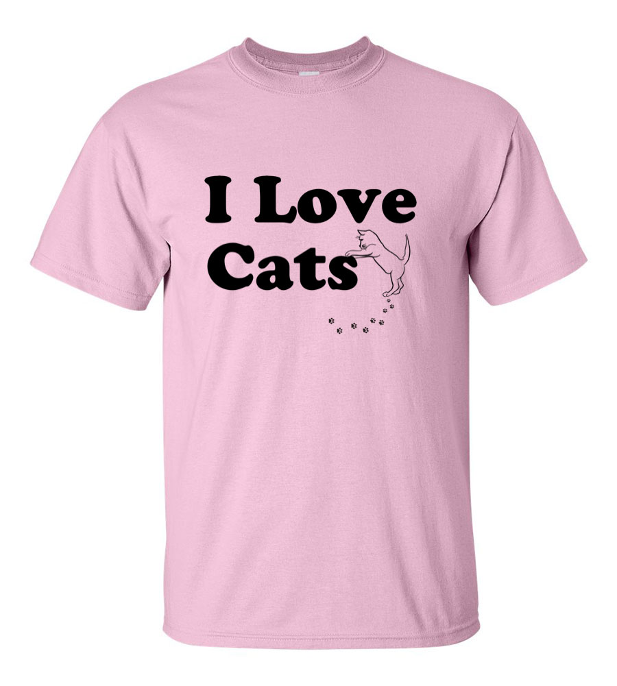 I Love Cats T Shirt
