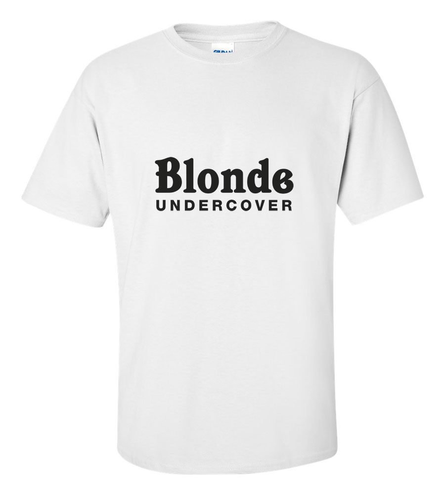 Blonde Undercover Funny T Shirt