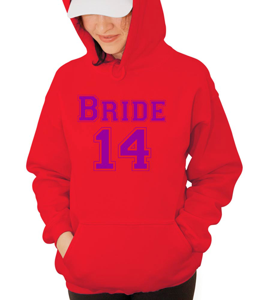 Bride 14 Hooded Sweatshirt