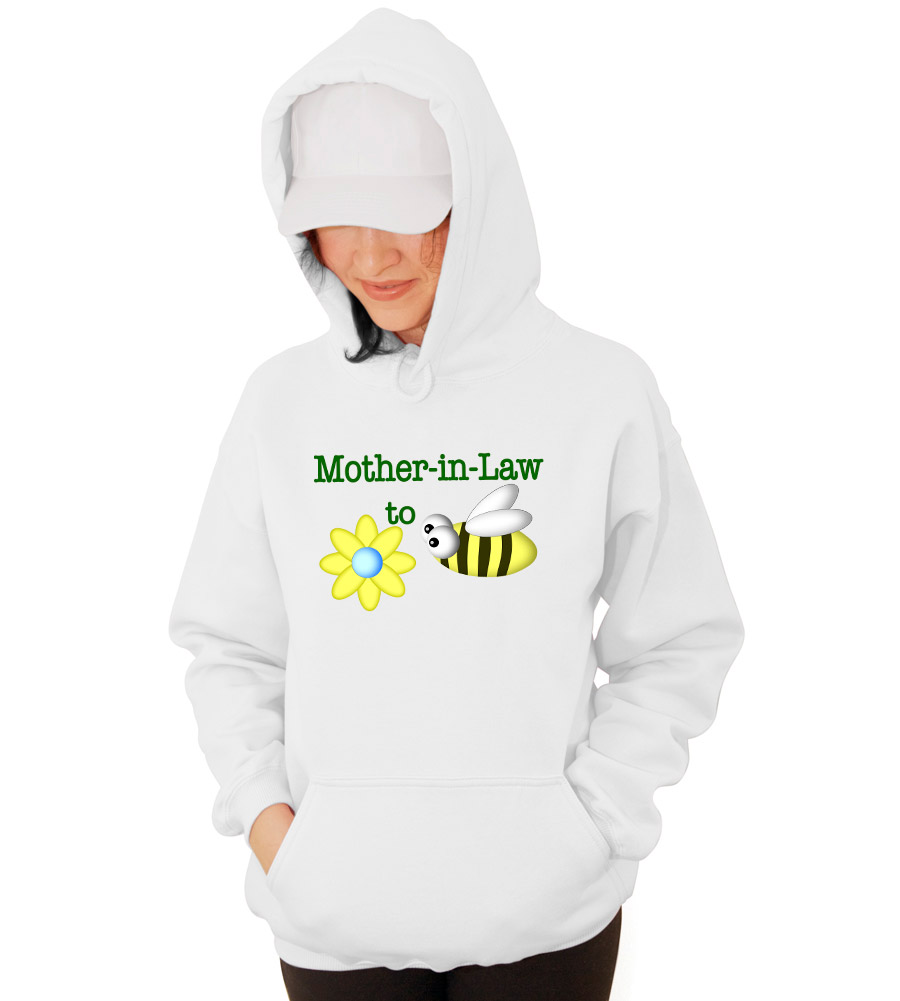 Mother in Law to Be Wedding Hooded Sweatshirt