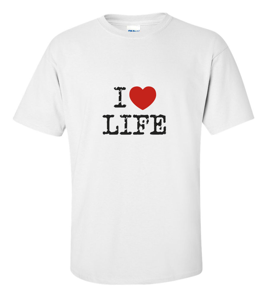 I Heart Love Life T-shirt