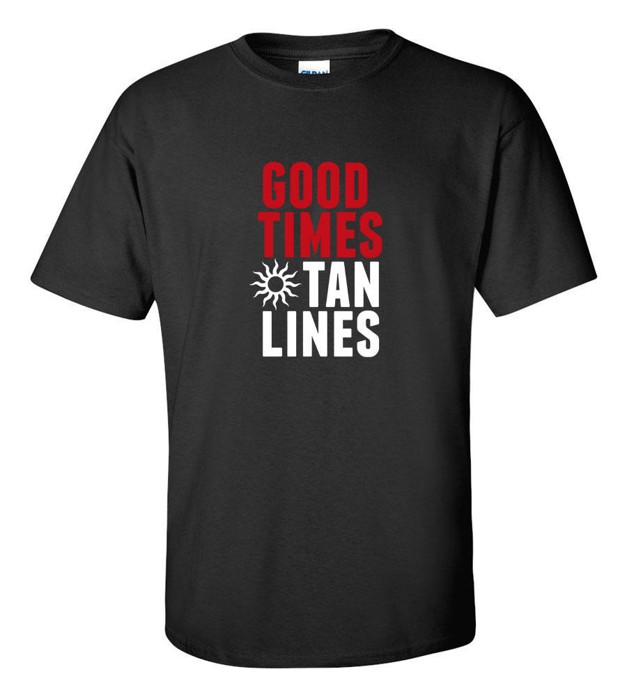 Good Times Tan Lines T-shirt