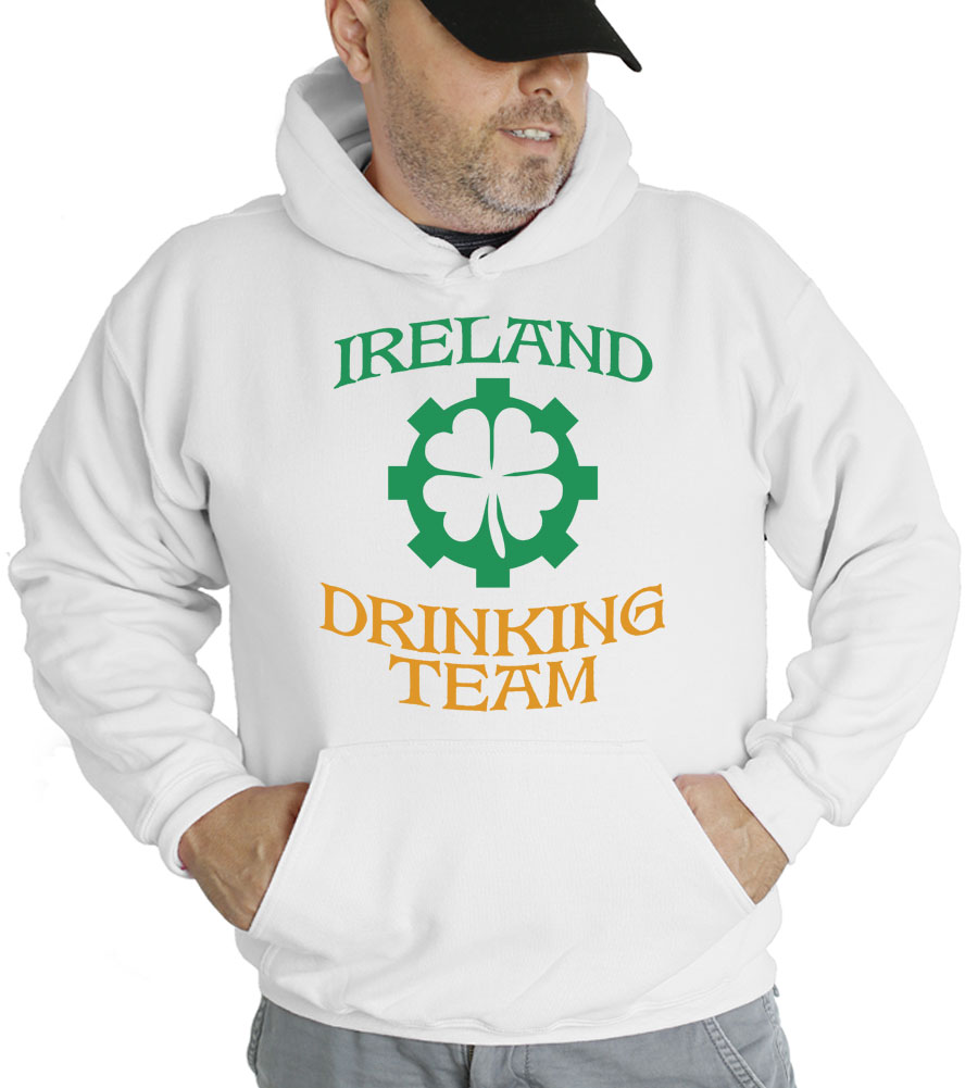 Ireland Drinking TeamHooded Sweatshirt