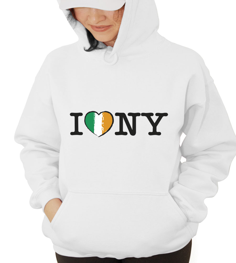 I  Love NY Hooded Sweatshirt