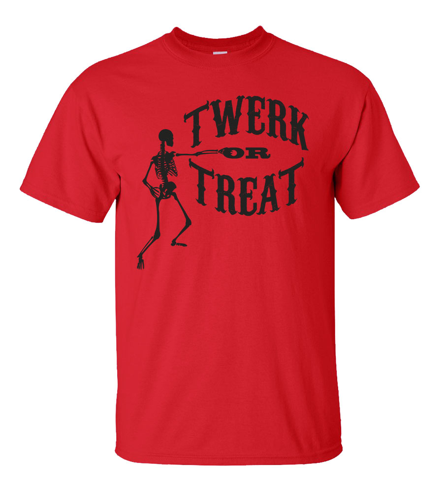 Halloween Twerk or Treat T-shirt Funny Scary