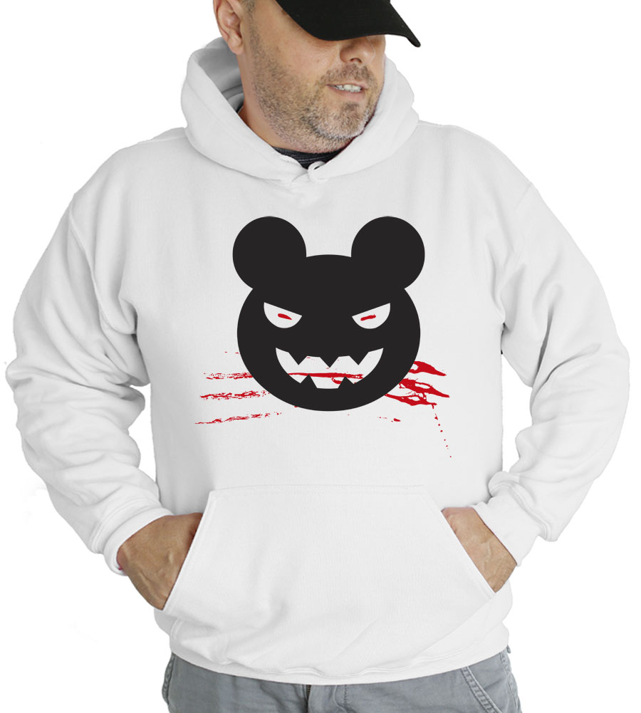 Halloween Evil Mickey Mouse Hooded Sweatshirt