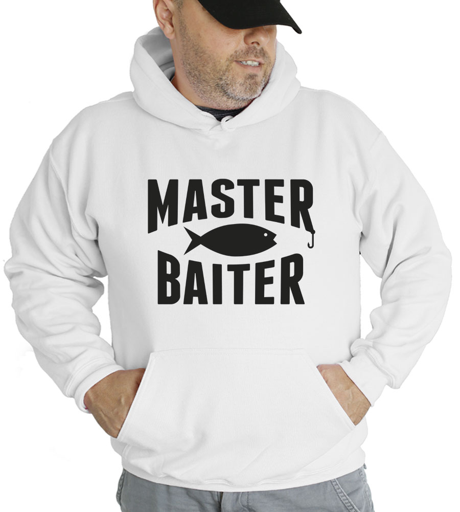 Master Baiter Fishing Hooded Sweatshirt
