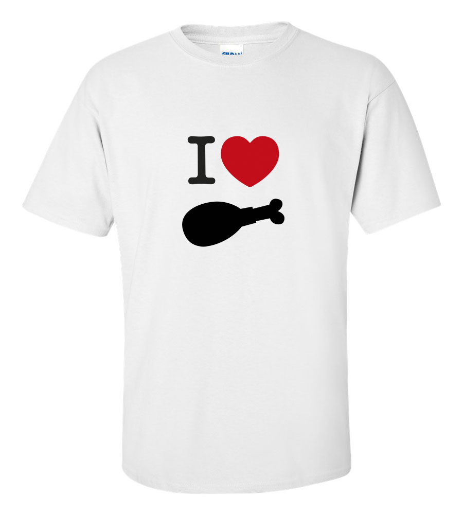 I Heart Turkey Thanksgiving T-Shirt
