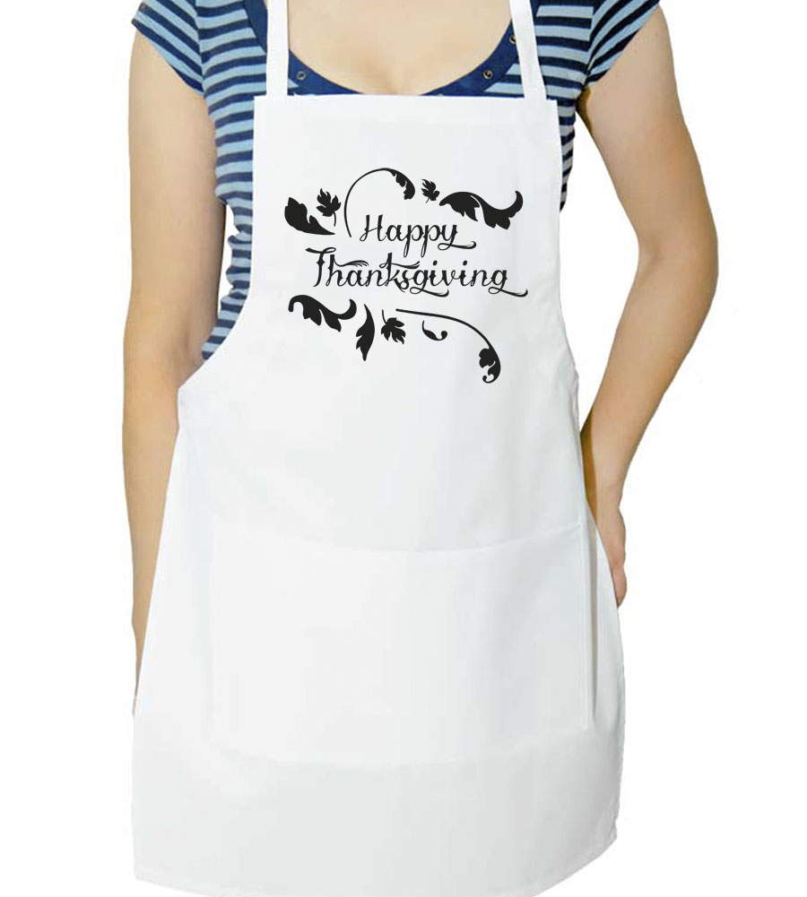 Happy Thanksgiving Day Apron
