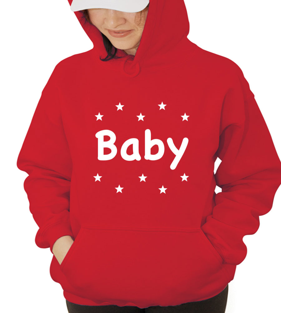 Baby Star Hooded Sweatshirt