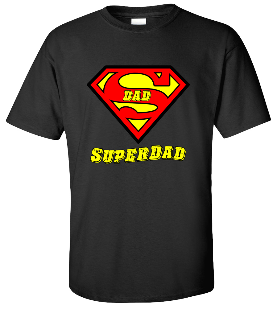 SuperDad T-shirt Superman Tee