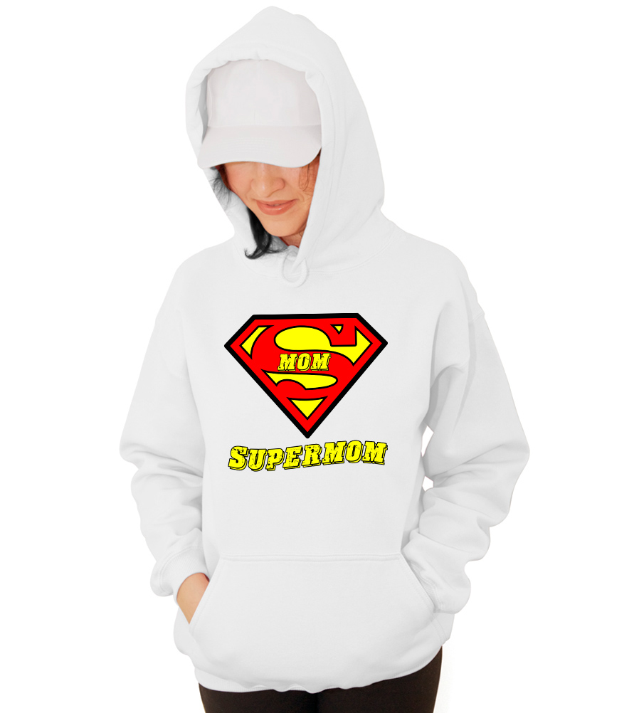 SuperMom Superman Hooded Sweatshirt