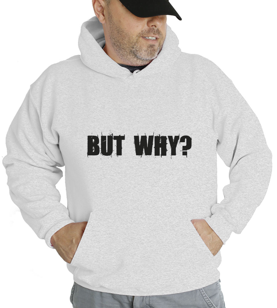 But Why? Hooded Sweatshirt
