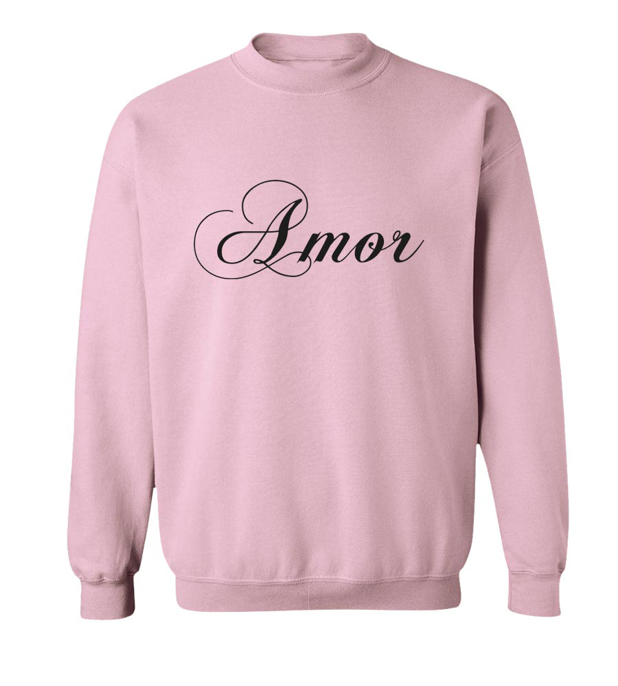 Amor Crew Neck Sweatshirt