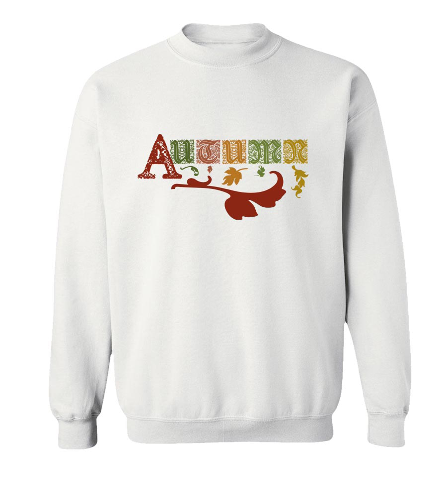 Autumn Crew Neck Sweatshirt
