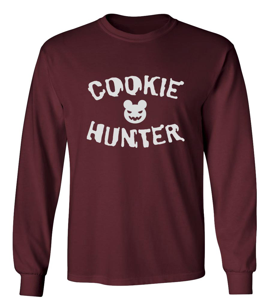 Halloween Cookie Hunter Long Sleeve T-Shirt