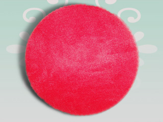 Red Tulle Circles 9 inch 25 pieces