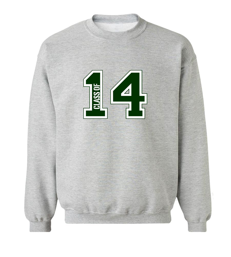 Class of 2014 Crew Neck Sweatshirt