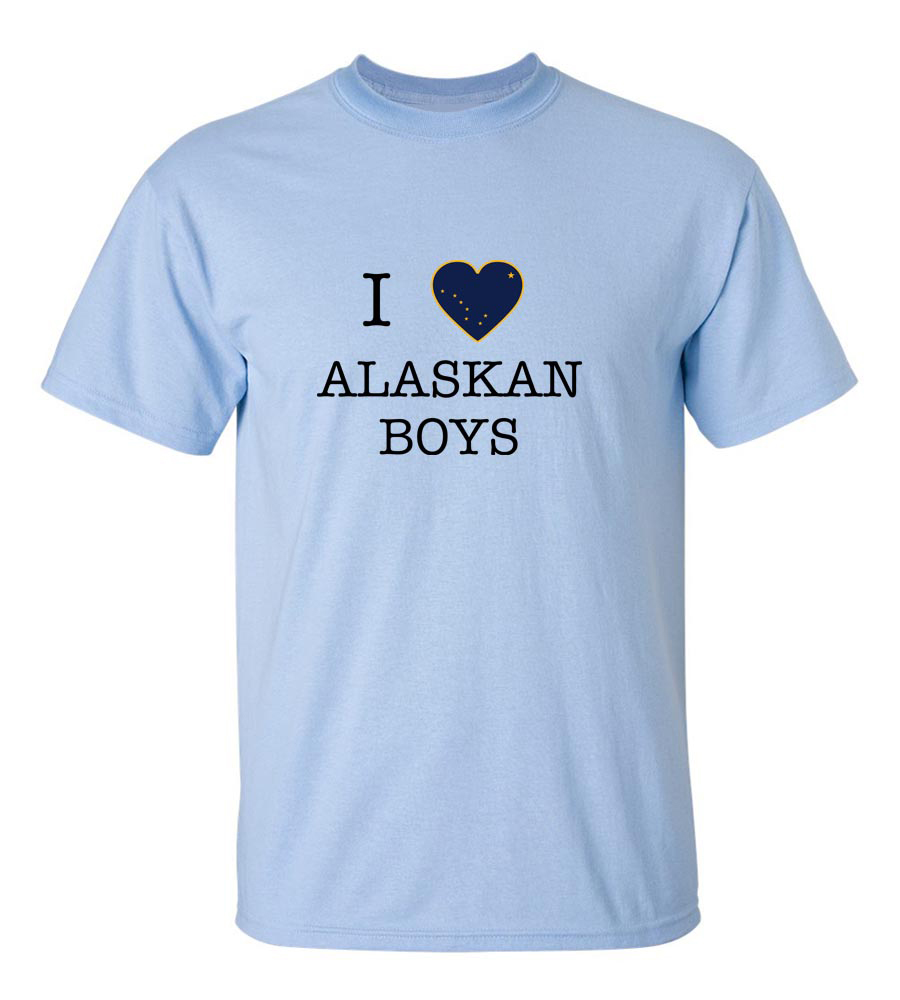 I Love Alaska Boys T-Shirt