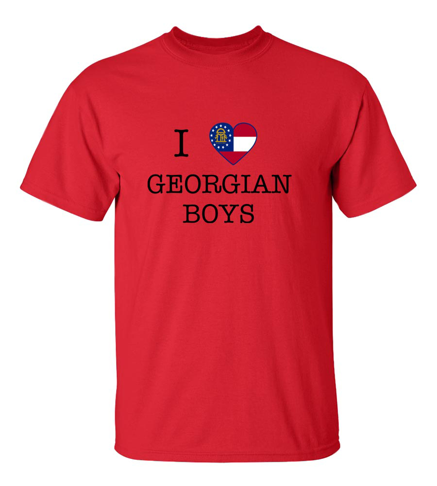 I Love Georgia Us State Boys T-Shirt