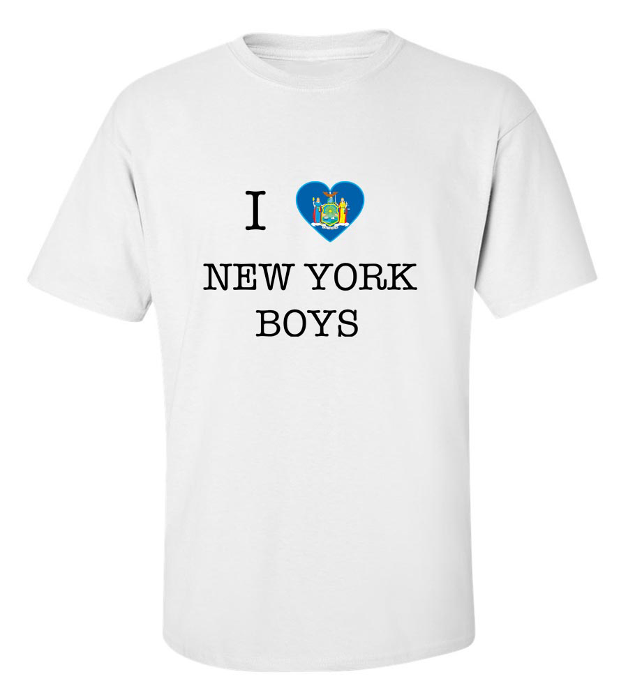 I Love New York Boys T-Shirt
