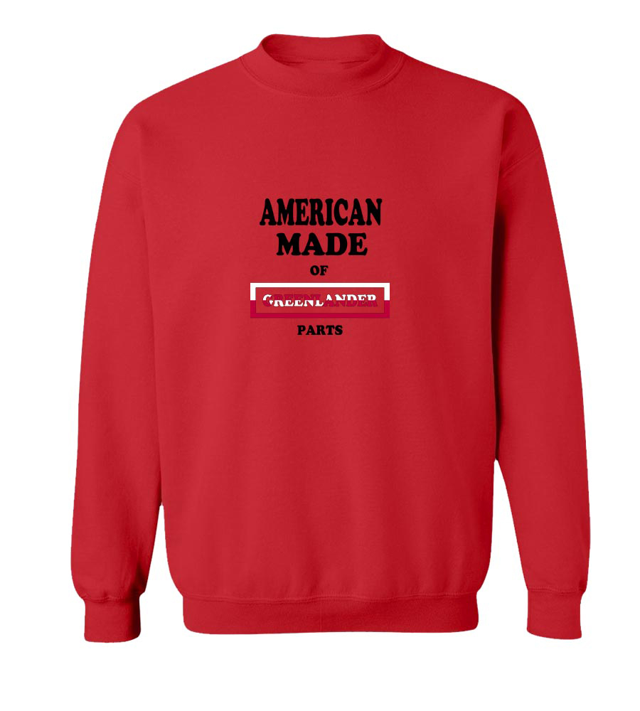 American Made Of Greenland Parts crew neck Sweatshirt