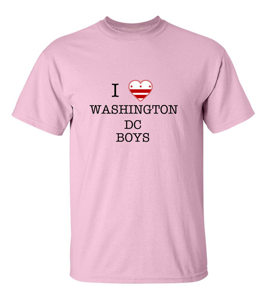 I Love Washington Dc Boys T-Shirt