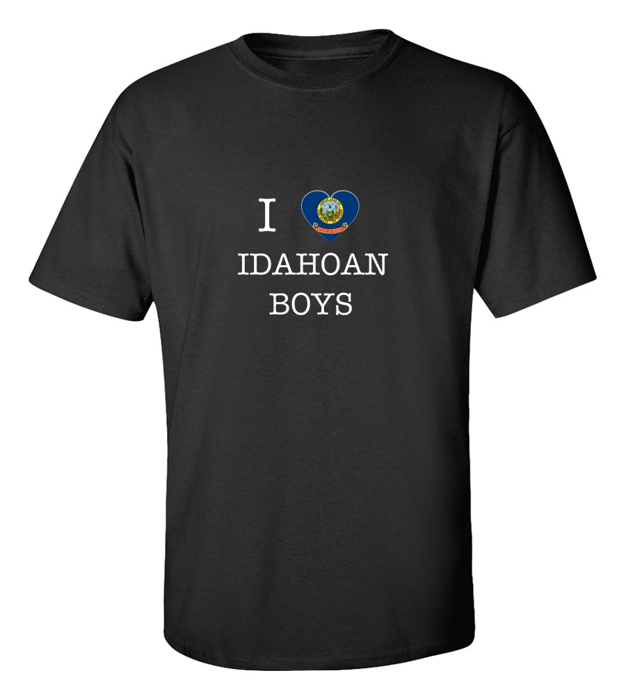 I Love Idaho Boys T-Shirt