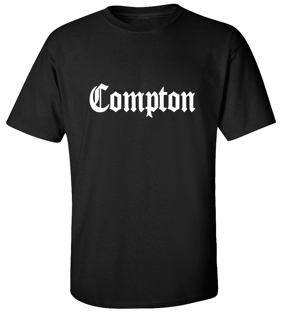 Compton Old English T-shirt Easy Game Street Tee