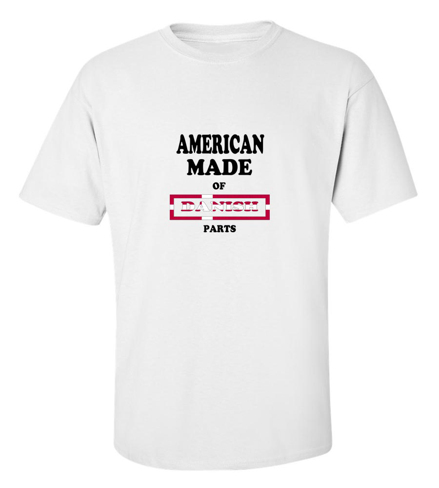 American Made of Denmark Parts T Shirt