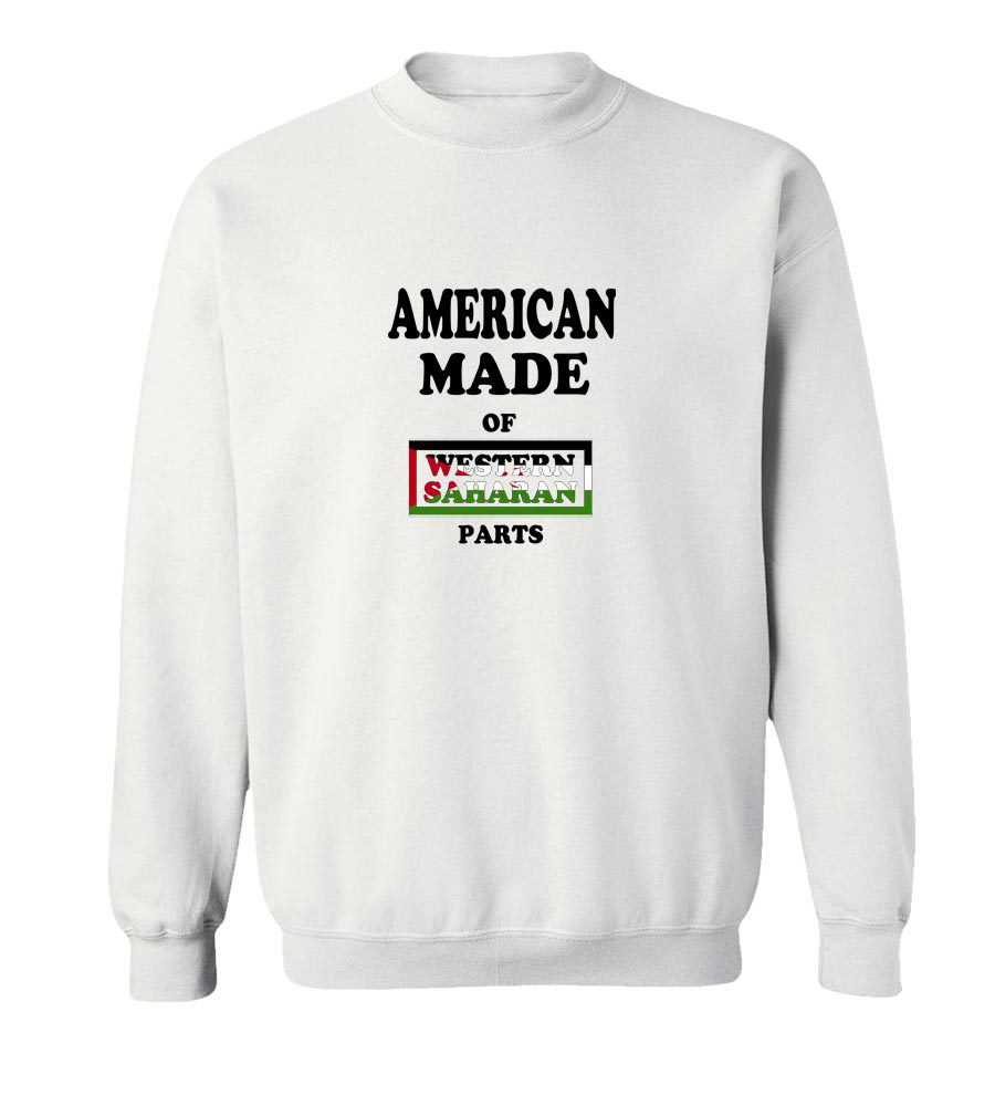 American Made Of Western Sahara Parts Crew Neck Sweatshirt