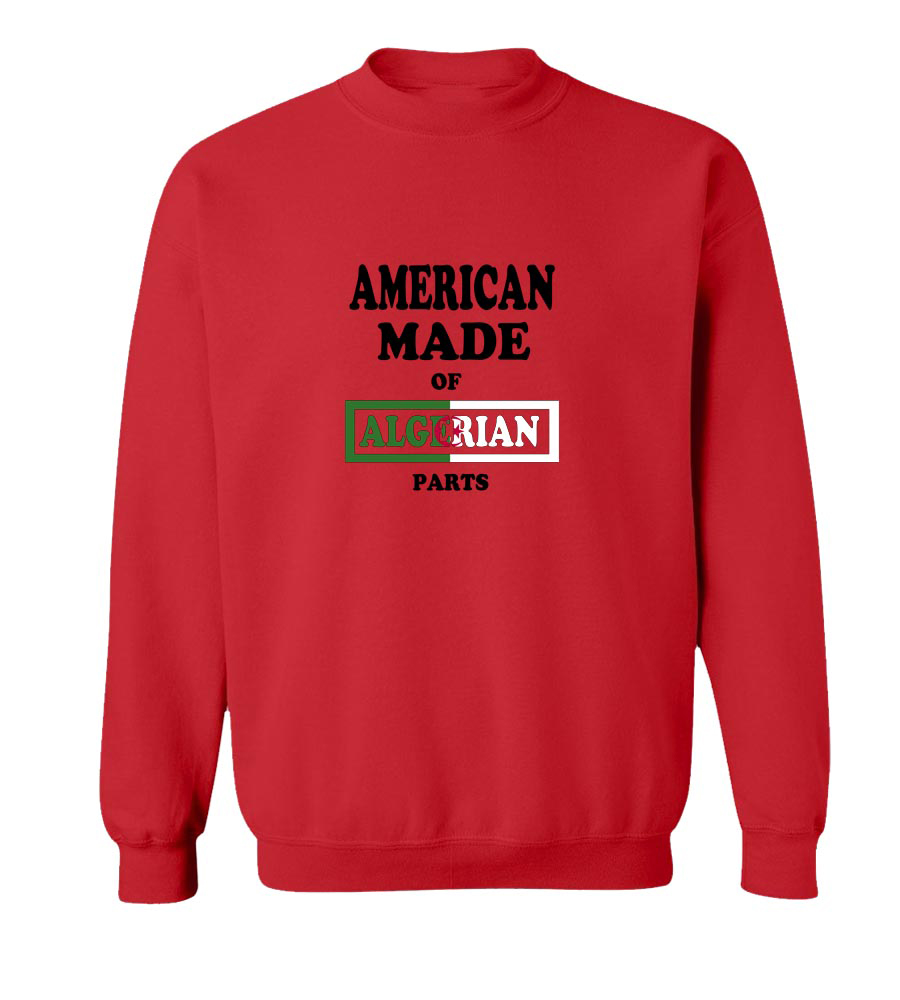 American Made Of Algerian Parts crew neck Sweatshirt