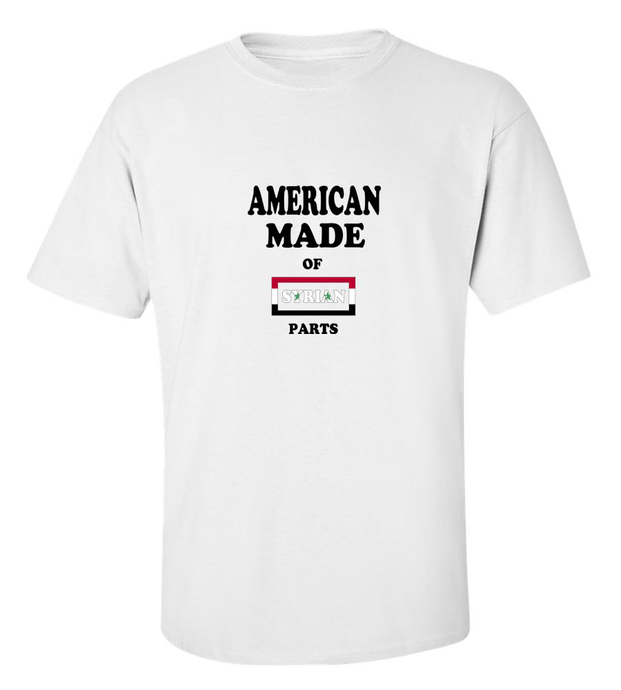 American Made Of Syria Parts T-Shirt