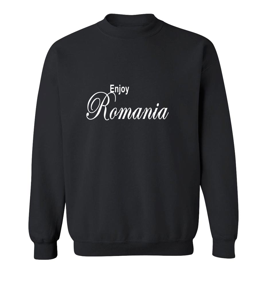 Enjoy Romania Crew Neck Sweatshirt