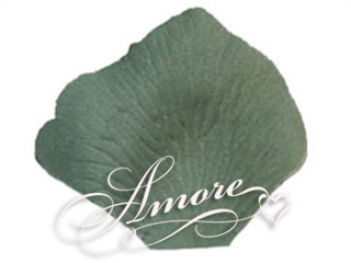 Peridot Silk Rose Petals Wedding Bulk 10000